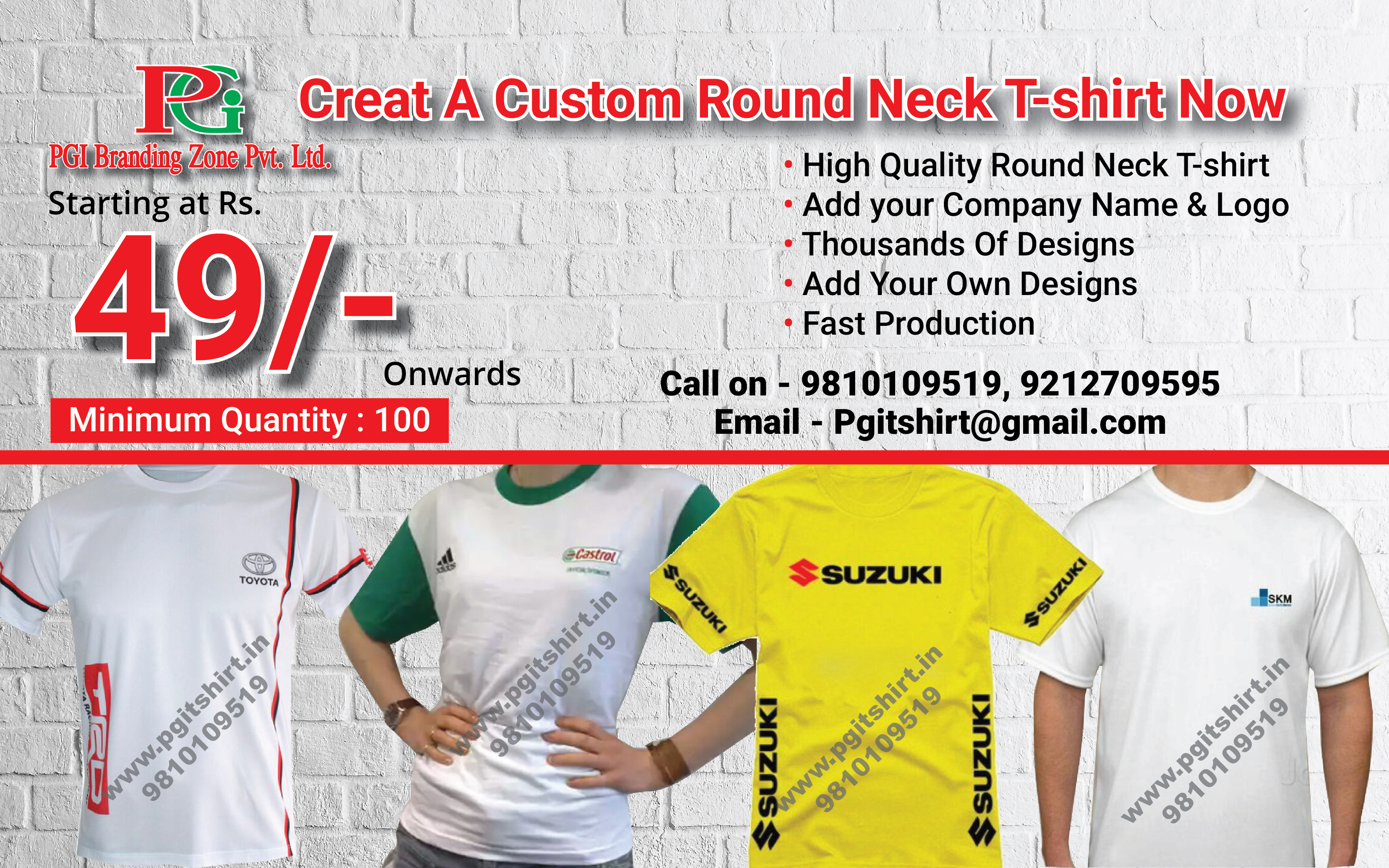 c8f440804 Promotional T shirts Manufacturers in Delhi, Corporate T shirt Suppliers in  Delhi